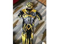 Transformers suit and mask