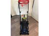 Spear and Jackson 1200w rotary electric lawnmower LM1232 used once excellent condition