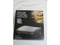 George Foreman Family 5 portion grill - NEW