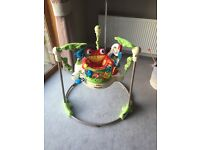 "Fisher Price ""Rainforrest"" Jumperoo"