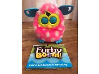 Furby Boom Pink with white polka dots