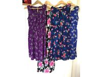Four New Look Maternity Dresses size 10