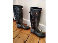 Ladies Hunter Boots (UK 6, US 8, EU 39)