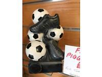 Football piggy bank