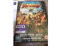 Jumanji new sealed DVD