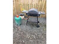 Eland barbeque and gas bottle