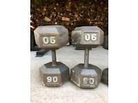 205kg/450lbs Dumbbells Set for Sale/Swap/PartEx