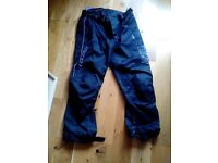 Motorbike trousers witch protectors