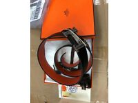 Hermes belt new complete with packaging