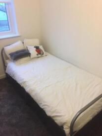 Single Bed and Memory Foam Mattress