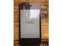 Apple iPhone 4 | O2 & GiffGaff | 16GB - Black