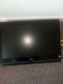 22inch alba tv buit in free view
