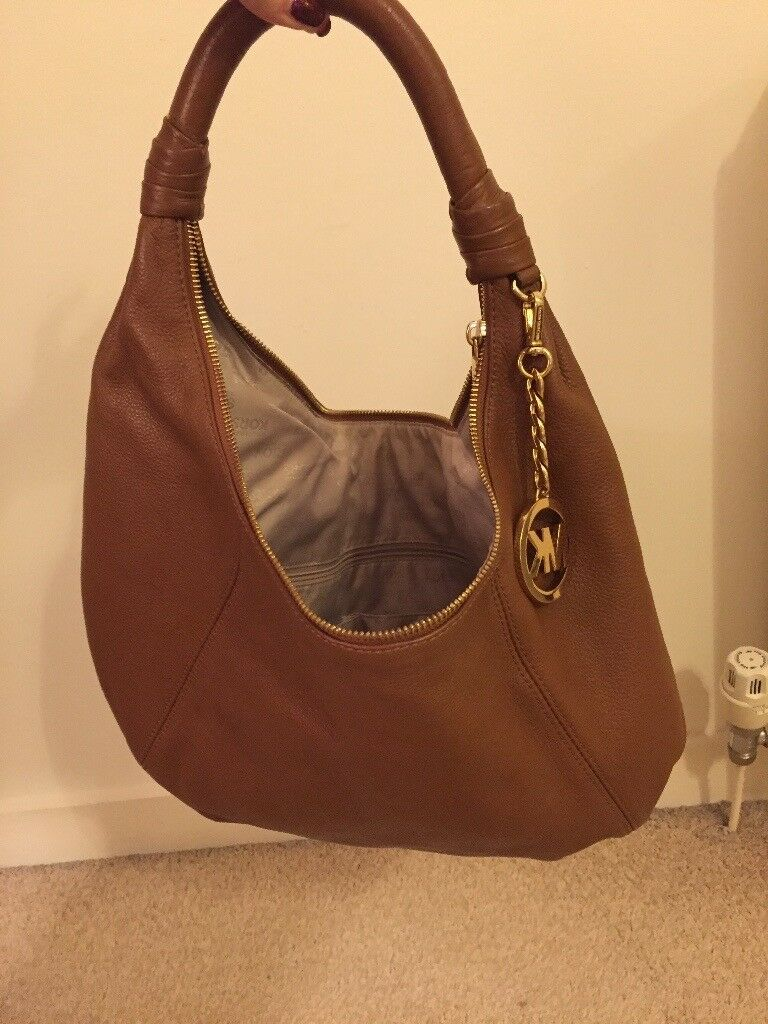 6e96e00d835d Genuine Michael Kors Brown Leather ladies handbag | in ...