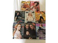 Vanity Fair magazines