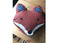 Sass and Belle fox cushion