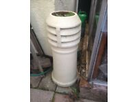 Garden chimney pots/ planters - all different