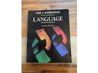 The Cambridge encyclopedia of language (2nd edition)