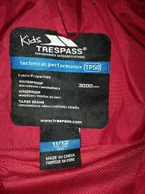 Girls Tresspass Coat