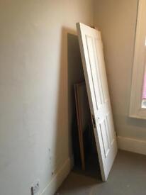 Free wood door