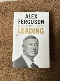Alex Ferguson Leading book