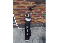 Junior set of Donnay Golf Clubs (Donnay bag and Golf Balls included)