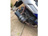 50cc pulse light speed scooter