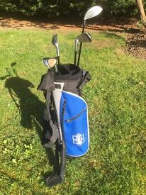 Hippo junior golf clubs set