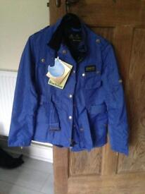 Ladies blue Barbour jacket