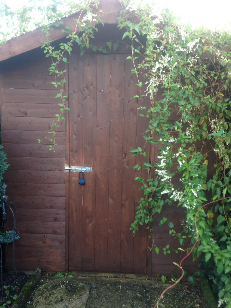 Garden Sheds Gumtree garden shed only one year old | in newcastle, tyne and wear | gumtree