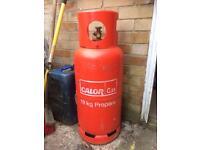 19kg Calor Gas bottle sealed & full