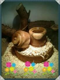 small ornamental ring box