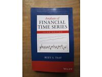 Analysis of Financial Time Series by Tsay, Ruey S