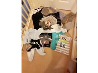 Baby boy clothing bundle 0-3-6