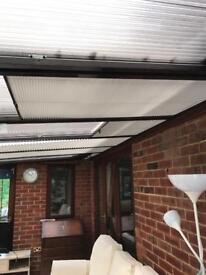 Conservatory roof blinds x 10
