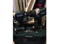 Makita set 18v brand new!!! 5ah batteries