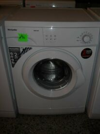 Montpellier MW5100P Washing Machine 1000 spin 5kg load As New £90