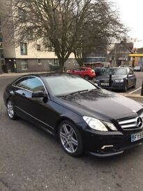 Mercedes e350 AMG cdi sport coupe, long mot, service history, superb car