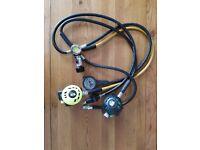 Apeks tx40 / tx50 diving regulator