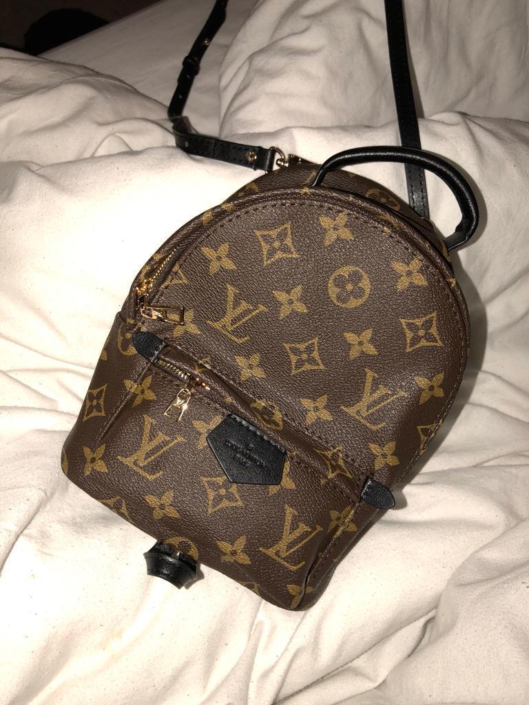 Louis Vuitton Palm Springs mini backpack Chanel prada  d4970a03f0b8f