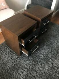 Next Dressing table & 2 bedside cabinets