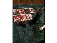 Xbox 360 120gb with 7 games