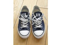 Converse Trainers - Worn Once / Very Good Condition - Size 7