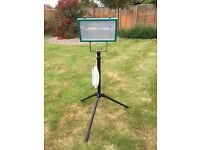 Algarve patio heater - IP 54 - On extendable tripod