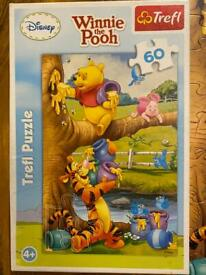 Winnie the Pooh puzzle 4+ ( 60 elements)