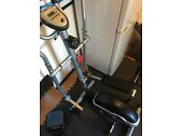 Body Sculpture BE6100 Magnetic Cross Trainer