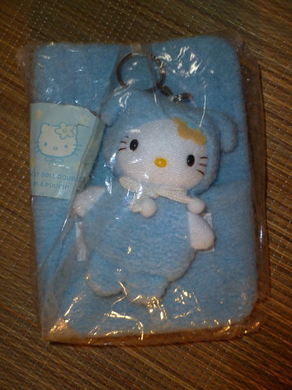 Sanrio Hello Kitty VINTAGE Organizer Address Datebook Plush Mascot