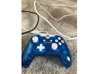 Xbox One Blue Wired Xbox one