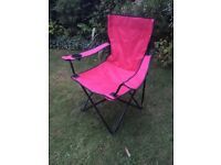 1 x Folding Camp Chair – Red