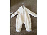 Mamas and Papas New Newborn Snowsuit