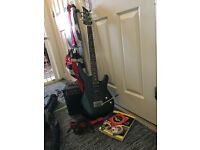Electric guitar ,amp and extras